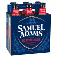 Samuel Adams Boston Lager Beer pack of 6 (12 oz) bottles