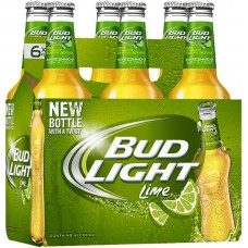 Bud Light Lime Pack of 6 (12 oz) bottles