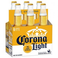 Corona Light Pack of 6 (12 oz) bottles