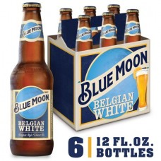Blue Moon Belgian White Wheat Beer Pack of 6 (12 oz) Bottles