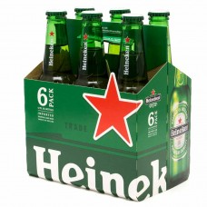 Heineken Lager pack of 6 (12 oz)bottles