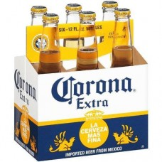 Corona Extra Pack of 6 (12 oz) bottles