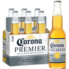 Corona Premier pack of 6 (12 oz) bottles
