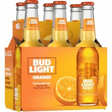 Bud Light Orange Pack of 6 (12 oz) Bottles