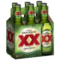Dos Equis Lager Pack of 6 (12 oz) Bottles