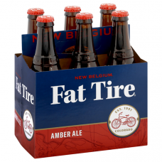 New Belgium Fat Tire Amber Ale Pack of 6 (12oz)