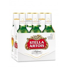 Stella Artois pack of 6 (11.2 oz) bottles