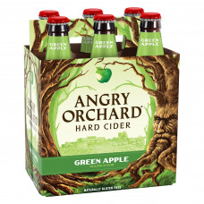 Angry Orchard Green Apple Hard Cider Pack Of 6 (12oz Bottles)