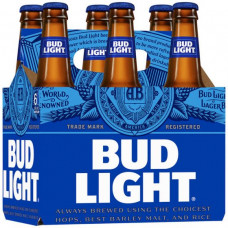 Bud Light Pack of 6 (12 oz Bottles)