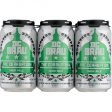 DC Brau The Corruption IPA Pack of 6 (12oz Cans)