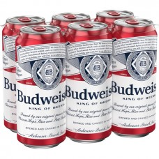 Budweiser Pack of 6 (12 oz) cans
