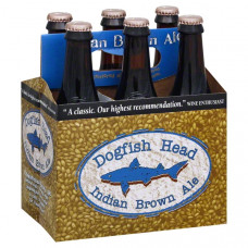 Dogfish Head Indian Brown Ale Pack Of 6 (12oz Bottles)