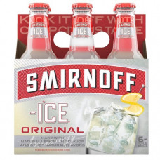 Smirnoff Ice Original Pack Of 6 (11.2oz Bottles)