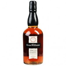 Evan Williams Single Barrel Vintage Straight Bourbon Whiskey 750 ml