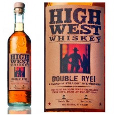 High West Double Rye Whiskey 750 Ml