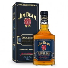 Jim Beam Double Oak Twice Barreled Straight Bourbon Whiskey 750 ml