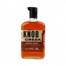 Knob Creek Smoked Maple Bourbon Whisky 750 Ml