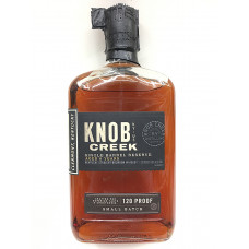 Knob Creek Single Barrel Bourbon Whiskey 750 ml