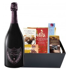 Dom Pérignon Rose with Godiva