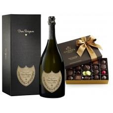 Dom Pérignon & Dark Chocolate Assortment Gift Box 27 pc.