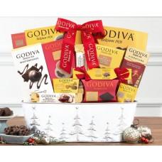 Godiva Chocolate Holiday Gift Basket