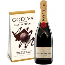 Moët & Chandon Impérial Brut Champagne and Godiva Chocolates
