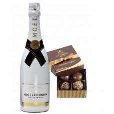 Moët & Chandon Ice Impérial Champagne & Godiva Chocolates Gift Box