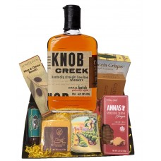 Knob Creek and Cheese Gift Basket