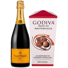 Veuve Clicquot Champagne and Godiva Chocolates