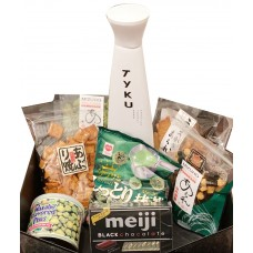 TY KU Sake Assorted Japanese Gift Basket