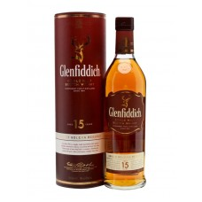 Glenfiddich 15 Year Old Single Malt Scotch Whisky 750 ml