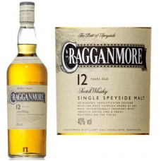 Cragganmore Scotch Single Malt 12 Year 750 ml