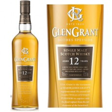 Glen Grant Scotch Single Malt 12 Year 750 ml