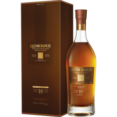 Glenmorangie Scotch Single Malt 18 Year Extremely Rare 750 ml