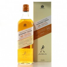 Johnnie Walker Scotch 10 Year Blenders Batch Triple Grain American Oak 750 ml