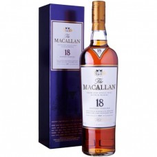The Macallan 18 Year Old Sherry Oak Single Malt Scotch Whisky 750 ml