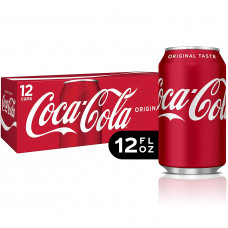 Coca-Cola Pack of 12(12oz cans)