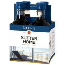 Sutter Home Merlot pack of 4 (187 ml )