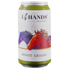14 Hands Canned Pinot Grigio 350 ml Can