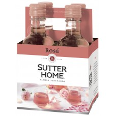 Sutter Home Rosé pack of 4 (187 )