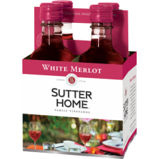 Sutter Home White Merlot pack of 4 (187 ml )