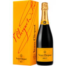 Veuve Clicquot Brut Yellow Label With Gift Box