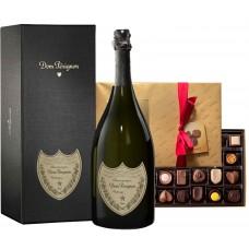 Dom Pérignon & Dark Chocolate Assortment Gift Box 26 pc.
