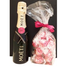 Moet & Chandon Mini with Chocolates
