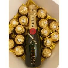 Moet & Chandon Mini with Chocolates