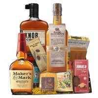 Bourbon & Cheese Gift Basket
