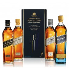Johnnie Walker Collection 4 Pack, 200ML Bottles