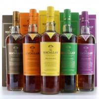 Macallan Edition No. Set (No.1 to 5) | Macallan Whisky Set