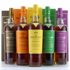 Macallan Edition No. Set (No.1 to 5) | Macallan Whisky Set