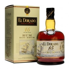 El Dorado 15 Year Old Rum Ron Rhum 750 ml